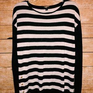 Dana Buchman | Long Sleeve Striped Shirt